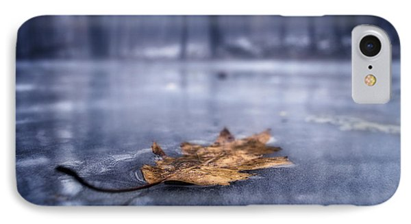 Fog Ice Leaf IPhone Case