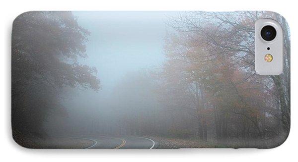 Foggy Autumn Day IPhone Case