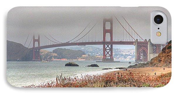 Foggy Bridge IPhone Case