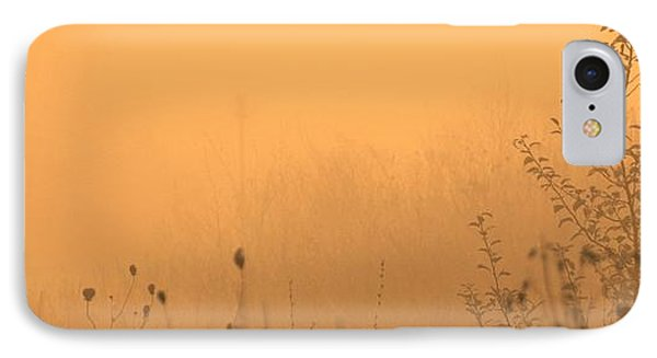 Foggy Fire IPhone Case