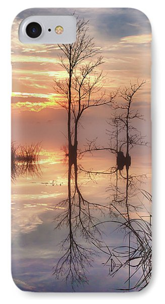 Foggy River Evening IPhone Case