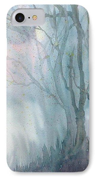 Foggy Trees IPhone Case