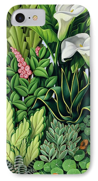 Garden iPhone 8 Case - Foliage by Catherine Abel