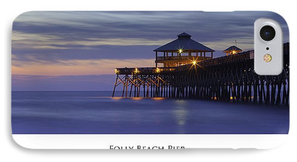 Folly Beach Pier Charleston Sc IPhone Case