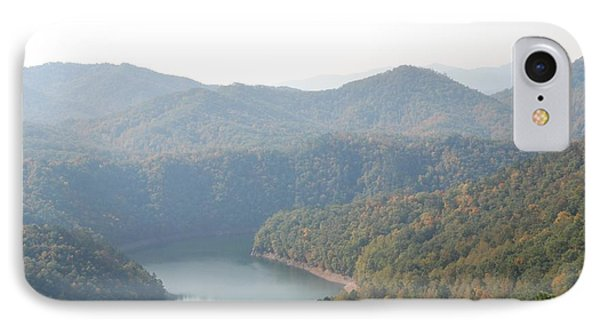 Fontana Lake Fall View IPhone Case