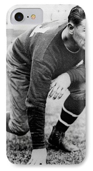 Football Player Jim Thorpe IPhone Case