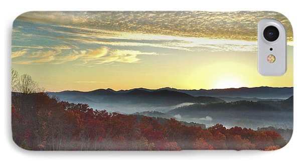 Foothills Parkway Sunrise IPhone Case