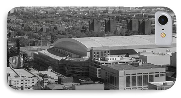 Ford Field Bw IPhone Case