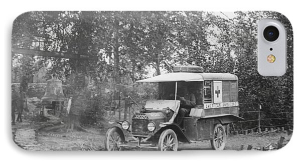 Ford Model T Ambulance IPhone Case