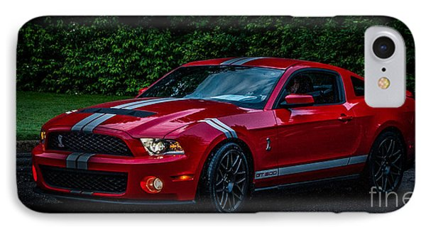 Ford Mustang Gt 500 Cobra IPhone Case