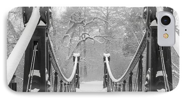 Forest Park Victorian Footbridge IPhone Case