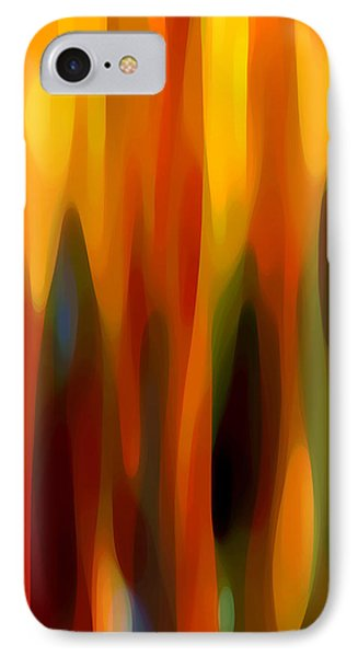 Forest Sunlight Vertical IPhone Case