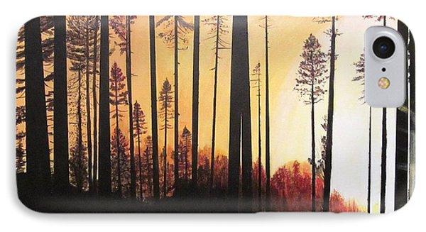 Forest Sunrise IPhone Case