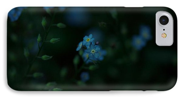 Forget Me Not 5 IPhone Case