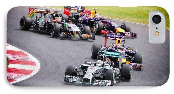 Formula 1 Grand Prix Silverstone IPhone Case