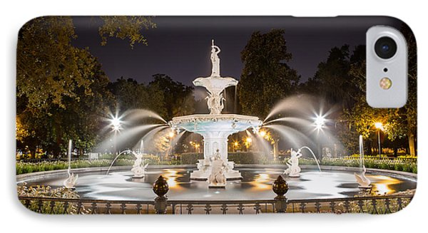 Forsyth Fountain IPhone Case