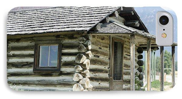 Fort Steele Cabin IPhone Case