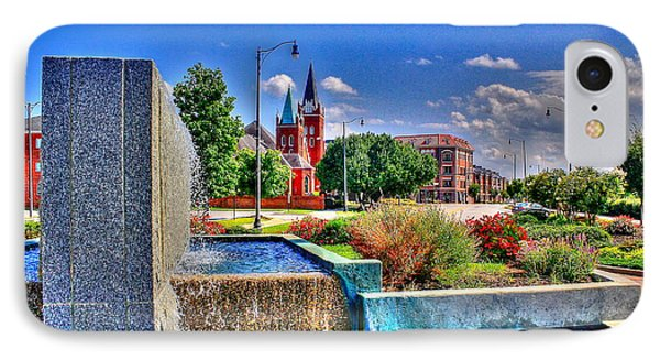 Fountain On Ray IPhone Case