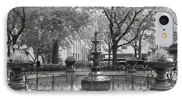Fountain Time IPhone Case