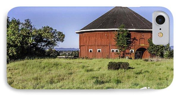 Fountaingrove Round Barn IPhone Case