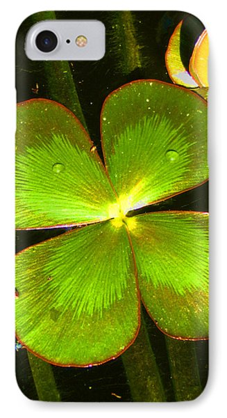 Four Leafed Clover IPhone Case