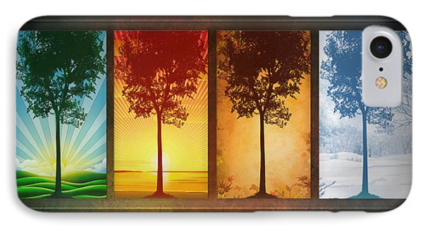 Four Seasons IPhone Case