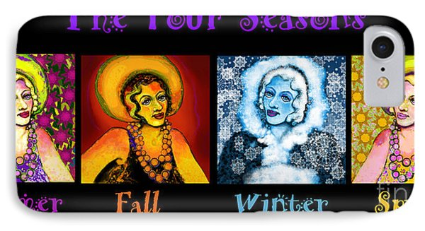Four Seasons In A Row IPhone Case