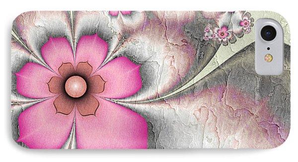 Fractal Nostalgic Flowers 2 IPhone Case