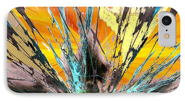 Fractured Sunset IPhone Case