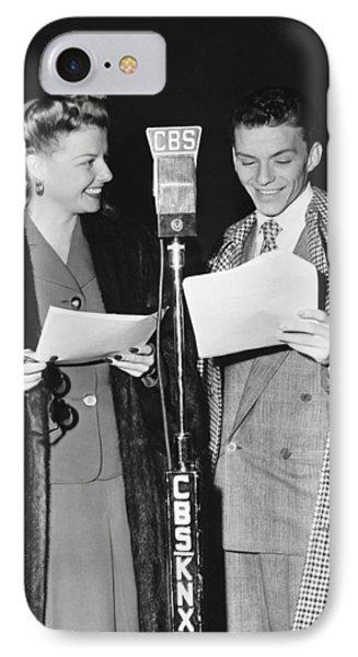Frank Sinatra And Ann Sheridan IPhone Case
