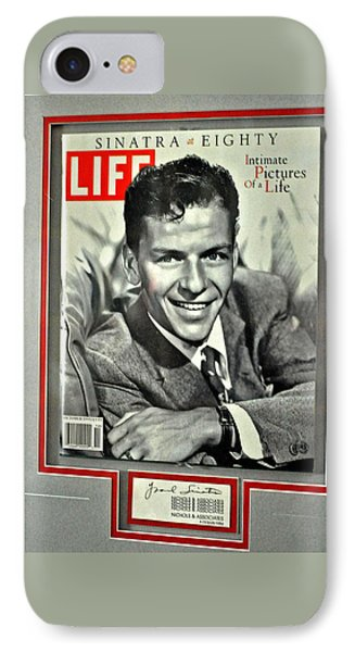 Frank Sinatra Life Cover IPhone Case