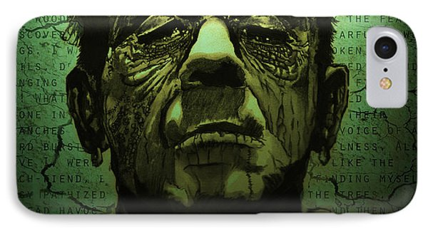 Frankenstein's Monster Dark Variant IPhone Case