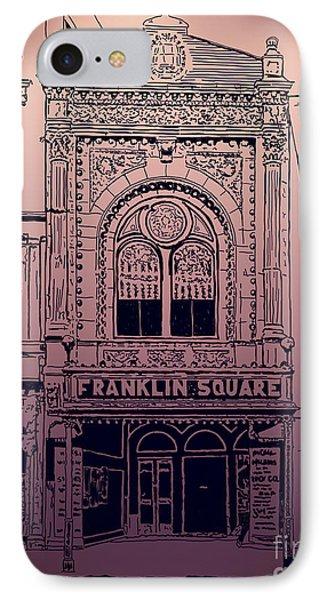 Franklin Square Theatre IPhone Case