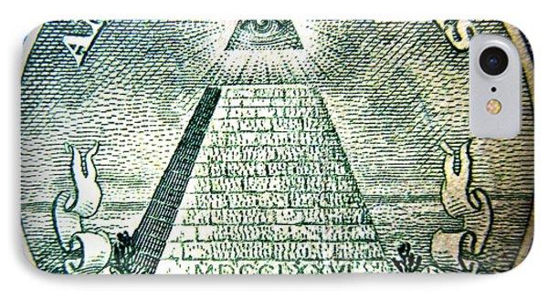 Freemason Symbol And Quote IPhone Case