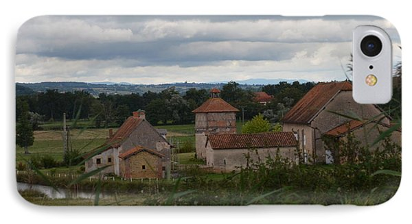 French Farm House IPhone Case