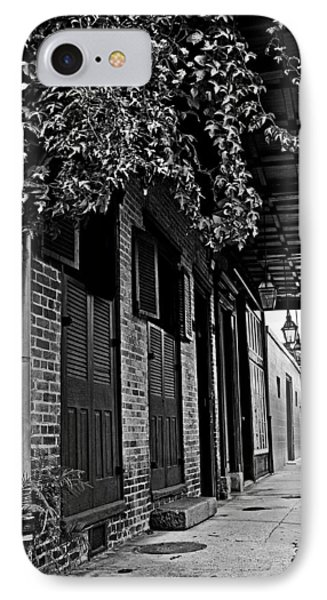 French Quarter Sidewalk IPhone Case