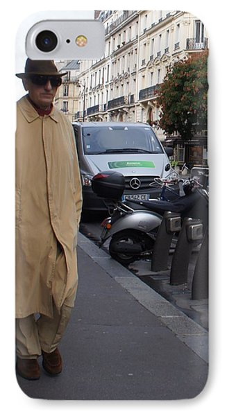 Frenchman Incognito IPhone Case
