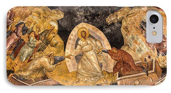 Fresco In Chora Church In Istanbul IPhone Case