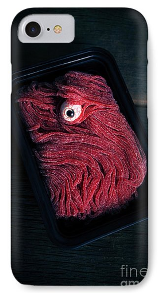 Fresh Ground Zombie Meat - Its What's For Dinner IPhone Case