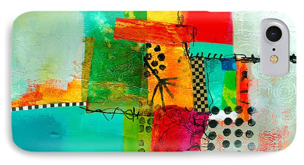 Collage iPhone 8 Case - Fresh Paint #5 by Jane Davies