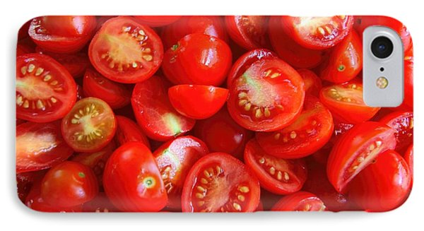 Fresh Red Tomatoes IPhone Case