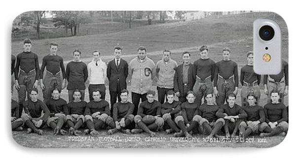 Freshman Football Squad, Catholic IPhone Case