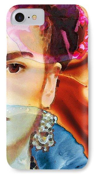 Frida Kahlo Art - Seeing Color IPhone Case