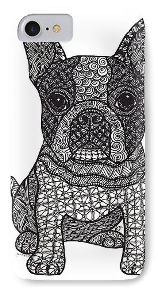 Friend - Boston Terrier IPhone Case