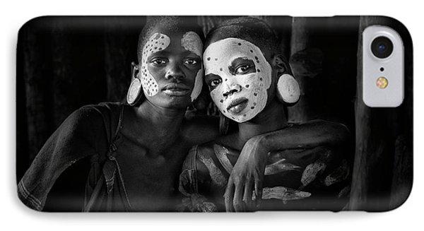 Africa iPhone 8 Case - Friends by Jose Beut
