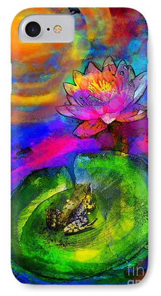 Frog At Sunset IPhone Case