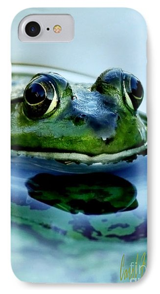 Green Frog I Only Have Eyes For You IPhone Case
