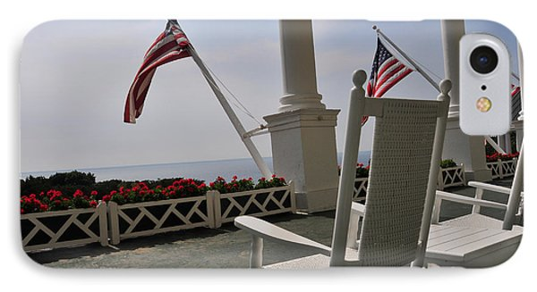 Front Porch II Grand Hotel On Mackinac Island IPhone Case