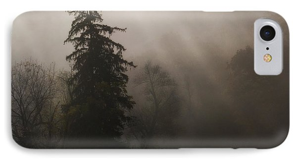Frosty Foggy Morning IPhone Case
