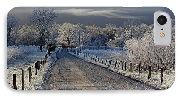 Frosty Sparks Lane IPhone Case